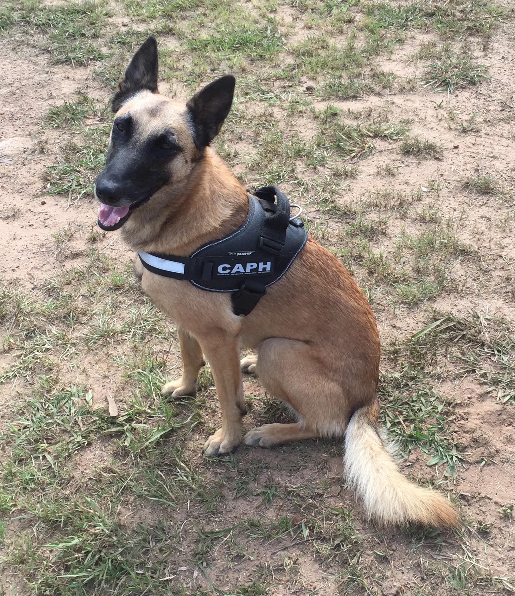 Caph in uniform